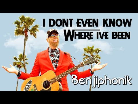 BENJIPHONIK GETS LOST ON VIRTUAL-VACATION ACROSS GLOBE
