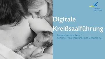 Digitale Kreißsaalführung Klinikum Leverkuen