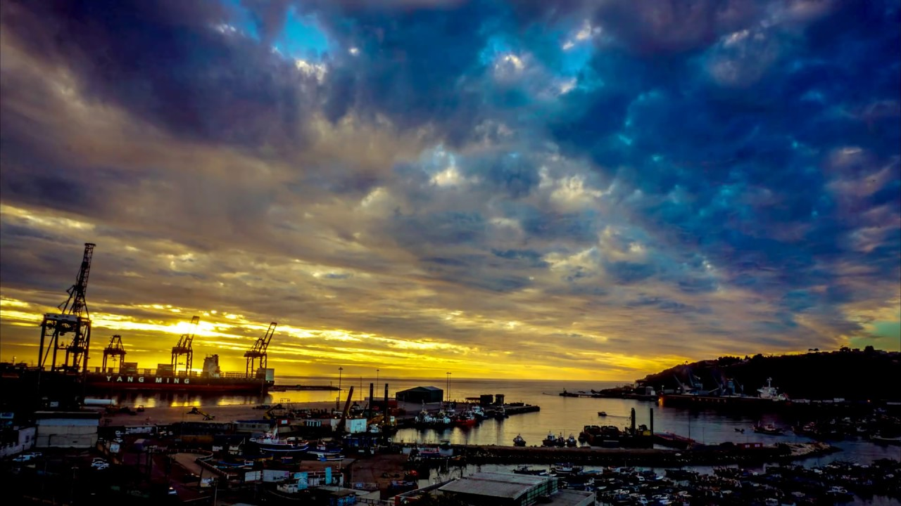 San Antonio - Time-Lapse  del puerto