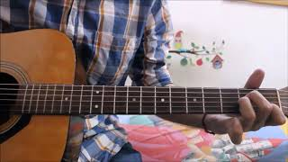 1 Old Romantic song - Leads / Tabs / Intro - Beginners guitar lesson Hindi