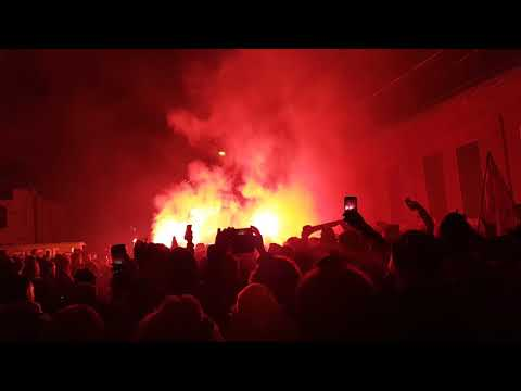 Toronto FC Fans Celebrate MLS Cup Victory 2017