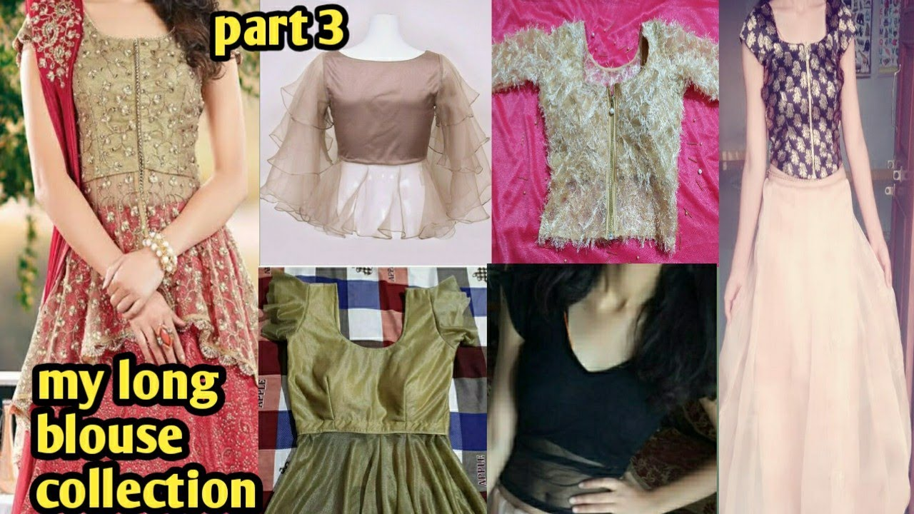 New Letest Long Blouse Design 2020 Lehenga Blouse Design Saree Blouse Design Youtube
