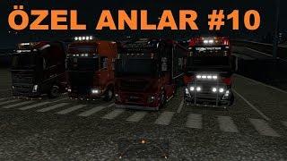 Euro Truck Simulator 2 MP Özel Anlar #10 Makas Show+Admin+Tek Teker+Makas+Kılpayı+Tampon