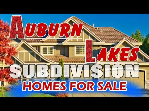 Auburn Lakes House For Sale Near Clifford Crone Middle School