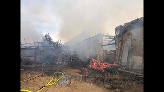 Tragiczny Pożar strawił Gospodarstwo Rolne !!! UDOSTĘPNIAJCIE Apel/Pomoc od Rolników !