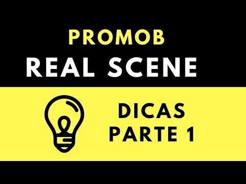 Promob Real Scene - Parte 1 -   Dicas Básicas