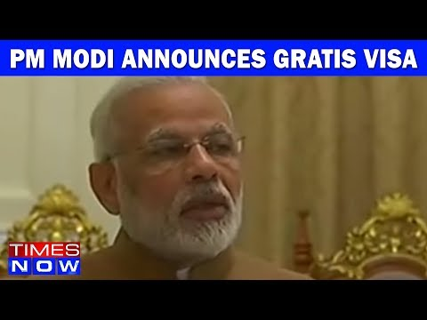 PM Modi Announces Gratis Visa For Myanmar Citizens To India