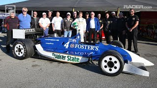 RACER: 1990 March Porsche Indy Car Shakedown with Pat Long
