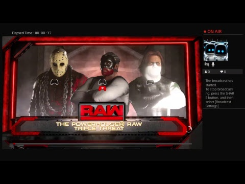 Ps4 robot triple threat 4 raw power house championship