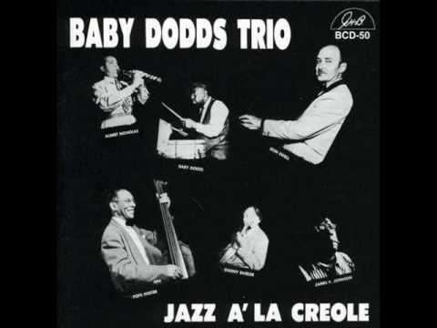 BABY DODDS TRIO - JAZZ A' LA CREOLE (full album)