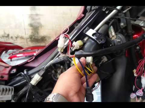 วิธีติดตั้งสัญญาณกันขโมยรถมอเตอร์ไซค์ Honda Wave125i : AutoRoute