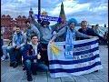 Болельщики Аргентины Перу Колумбии Марокко Мексики Уругвая уже в Москве