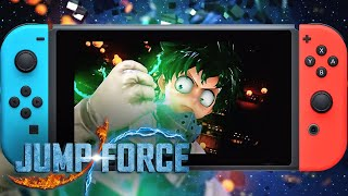 JUMP FORCE –Official Nintendo Switch Announcement Trailer