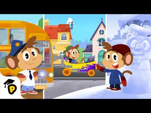 Bip's Adventures   Compilation   Kids Learning Cartoon   Dr. Panda TotoTime