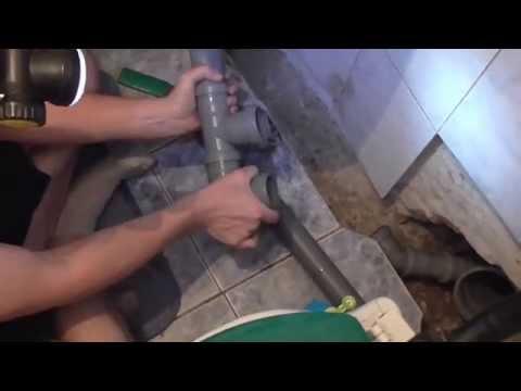 видео: Как заменить чугунную канализацию на пластиковую