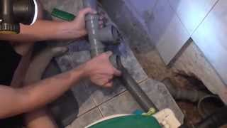 Как заменить чугунную канализацию на пластиковую(Мы заменили чугунную (советскую)канализацию на пластиковую(современную), 2015-06-26T18:24:40.000Z)