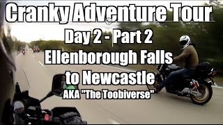 Cranky Adventure Tour Day 2 - Part 2 | Ellenborough Falls to Newcastle