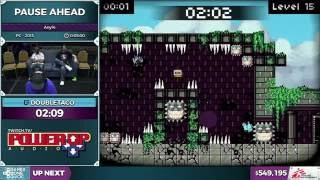 Pause Ahead by doubletaco in 4:14 - SGDQ 2016 - Part 134