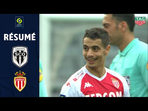 Angers Monaco Goals And Highlights