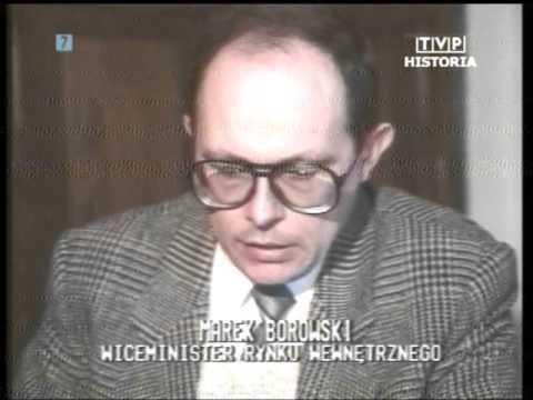 PL 1990.01.05 Jerzy Dziewulski. Marek Borowski. Bieda w Rumunii