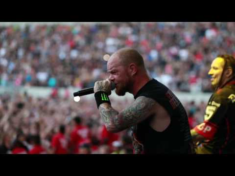 Five Finger Death Punch - Behind the scenes at Chicago Open Air 2016