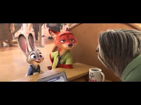 Zootropolis trailer (Dansk tale) - Disney