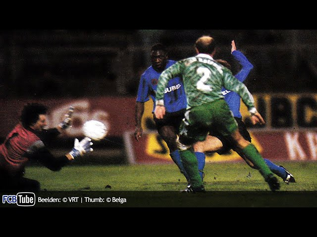 1991-1992 - UEFA-Cup - 07. Halve Finale - Club Brugge - Werder Bremen 1-0