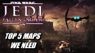 Star Wars Jedi: Fallen Order TOP 5 Planets That NEED To Be In The Game