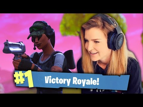 INSANE HAND CANNON PLAYS! (Fortnite: Battle Royale Gameplay) | KittyPlays