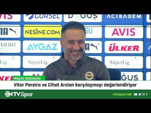 Vitor Pereira, Kasımpaşa maçı sonrasında basın toplantısında konuştu