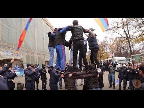 Армяне России на праздновании Дня народного единства в Москве 4 ноября 2017г.