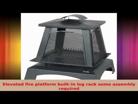 charbroil trentino outdoor fireplace 01505710 at rh youtube com Char-Broil Outdoor Fireplace Log char broil gas log outdoor fireplace