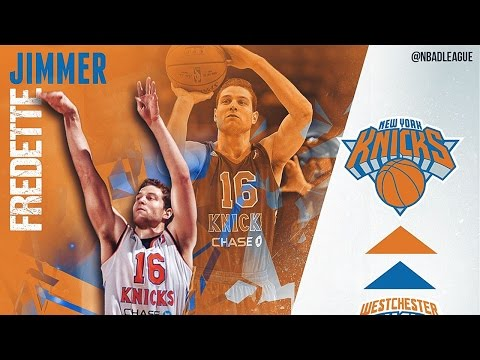 NBA D-League Gatorade Call-Up: Jimmer Fredette to the New York Knicks