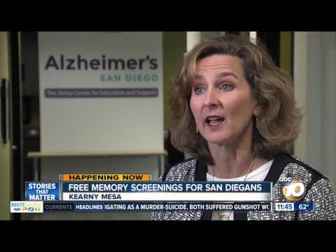 Free Memory Screenings in San Diego