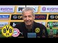 Was für ein Spiel! WAS FÜR EIN SIEG! | PK mit Lucien Favre | BVB - FC Bayern 3:2
