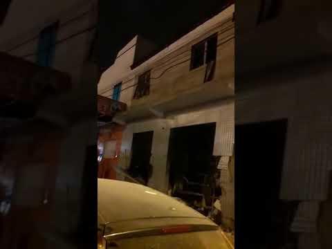 Botijão explode na Zona Norte de Aracaju e mulher fica ferida