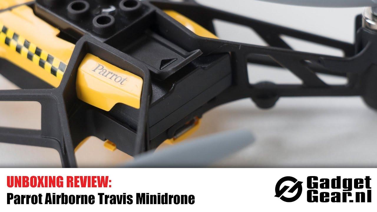 Unboxing Review Parrot Airborne Travis Minidrone