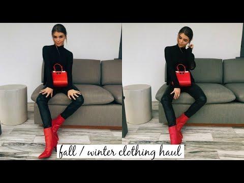 Fall / Winter Try-On Clothing Haul l Olivia Jade
