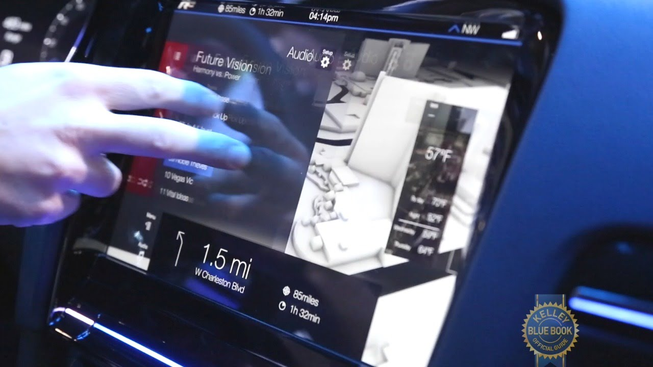 Volkswagen Golf R Touch Concept - CES 2015 - YouTube