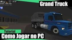 Como Jogar Grand Truck Simulator No PC !!