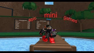 roblox: what kind of games are these[epic mini games]