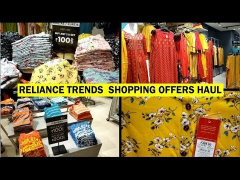 #Reliance Trends #Kurthis Haul | Kurtis Collections Discount Offers | Nigh Wear Collections