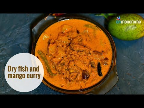 Dry Fish And Mango Curry | Mrs KM Mathew's Recipes