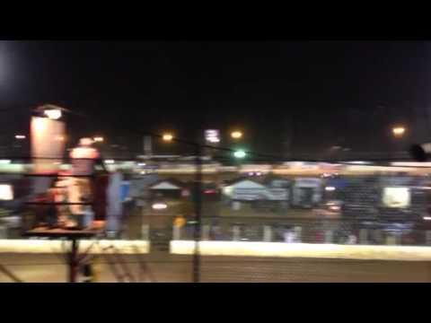 Devin Stuart Heat race Cleveland speedway 11-20-15