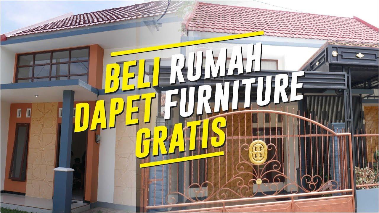 Beli Rumah Minimalis Gratis Furniture Lengkap Perumahan