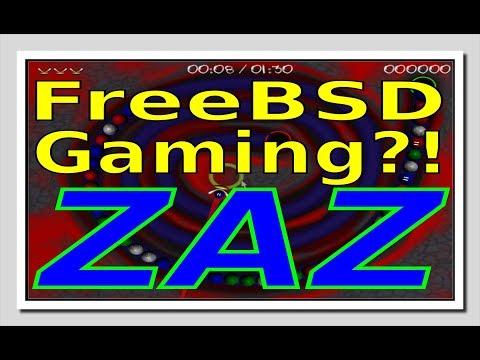 FreeBSD Gaming?!  - ZAZ
