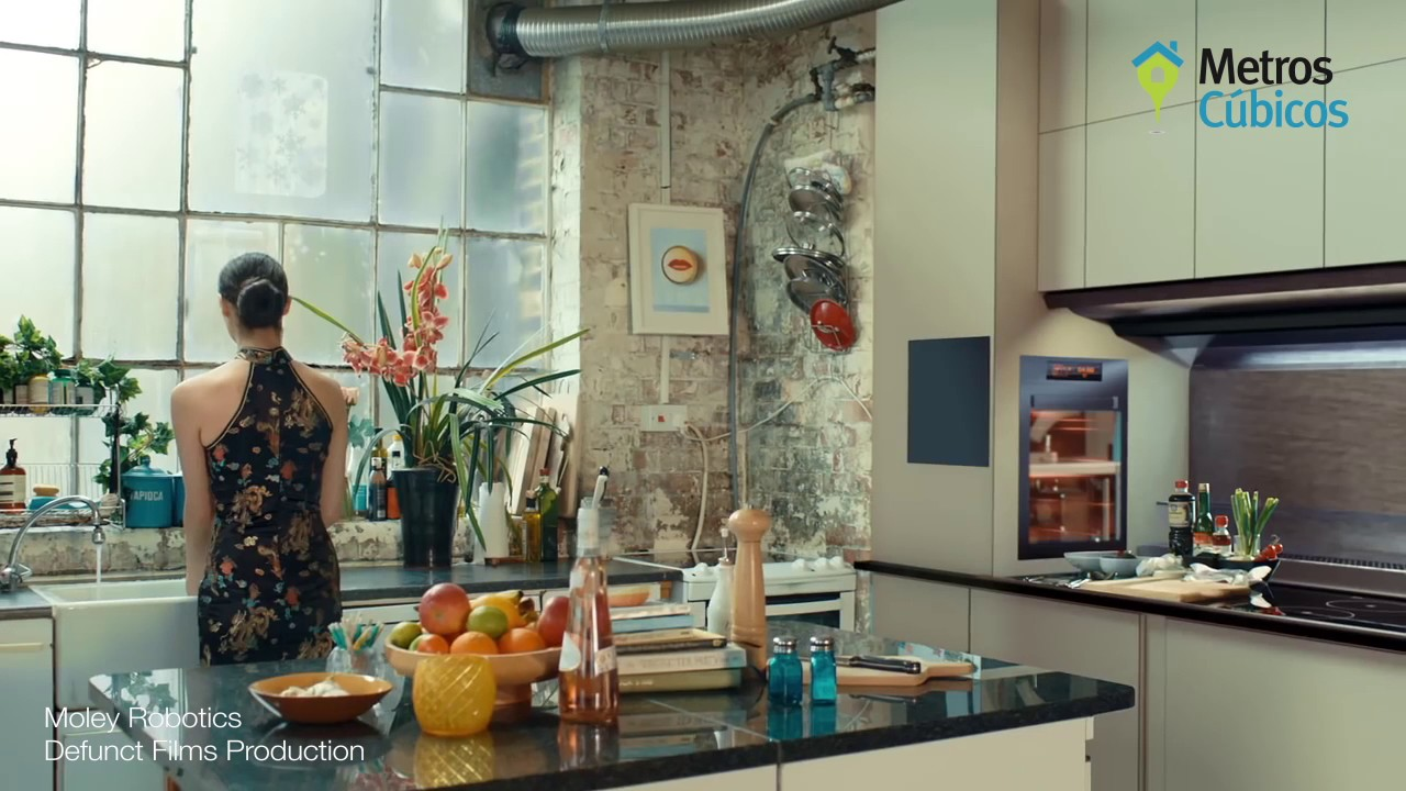 La primera cocina inteligente - YouTube