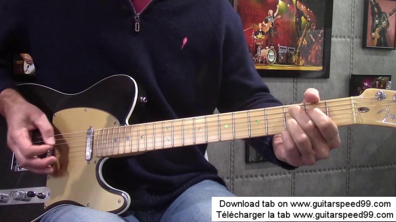 Cours de guitare big city night solo (scorpions) youtube.