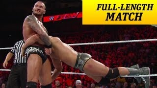 FULL-LENGTH MATCH - Raw - Cody Rhodes vs. Randy Orton
