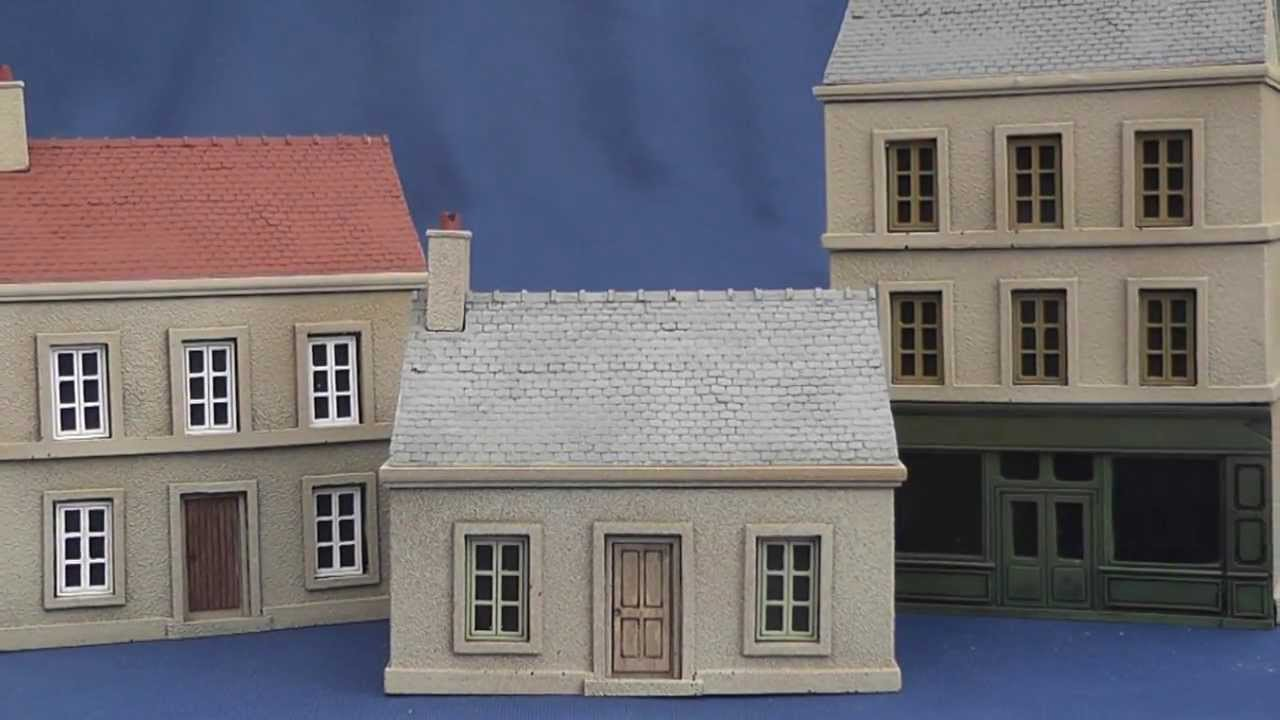 Games Of War 39 S 15mm Pre Painted Normandy Buildings A